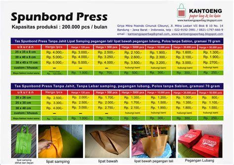 pabrik tas spunbond press indonesia