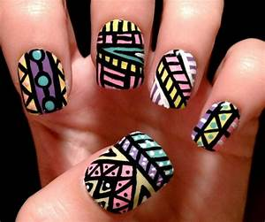 Cool nail designs : Simple nail art designs for beginners greetings