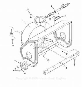 Ariens 921046  000101 -   Deluxe 28 Parts Diagram For Housing