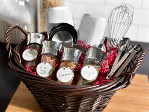 kitchen gifts ideas gift baskets easy crafts and decorating gift ideas hgtv