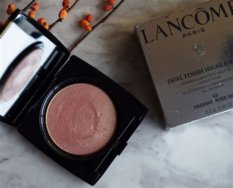 Lancome Highlighter lancome dual finish highlighter radiant gold review