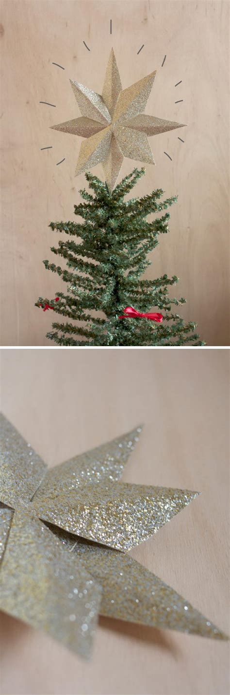 awesome diy christmas tree topper ideas tutorials hative