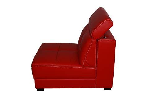 produit canapé cuir canapé droit cuir tema 1p canapé cuir 1 place
