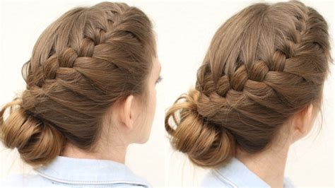 hair up plait styles braid updo hairstyle updo hairstyles 5366