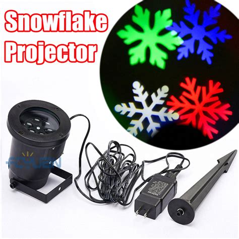 aliexpress com buy outdoor christmas snowflake light projector moving effect show rgb led snow