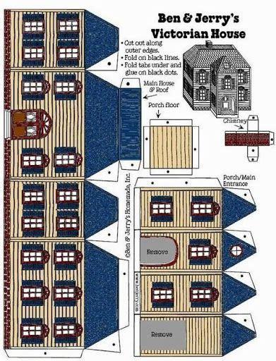 pin  barbara     houses paper houses