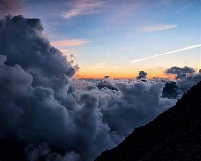 Sky Height Clouds Horizon Background Overview Standard