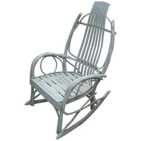 american twig adirondack rocking chair rocking chairs