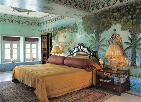 Bedroom Traditional Indian Palace Luxury Mural Wallpaper