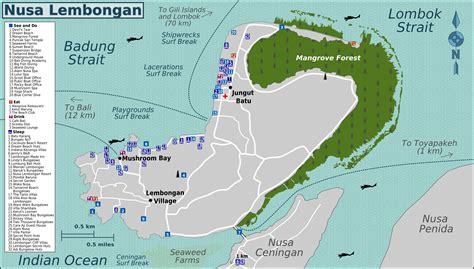 map  lembongan  penida nusa lembongan message