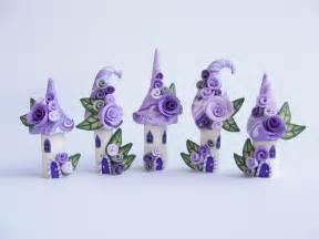 Miniature Polymer Clay Fairy House