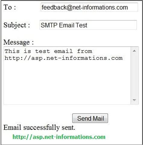 aspnet email application