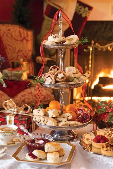 lovely christmas tea party ideas shelterness