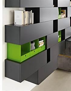 Meuble Design Unique Modules Forte Piano De Molteni