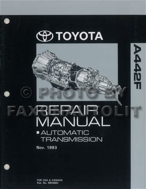 1994 toyota land cruiser repair shop manual original 1994 toyota land cruiser automatic transmission repair shop manual original