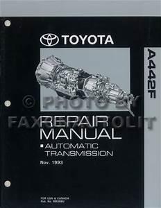 1994 Toyota Land Cruiser Wiring Diagram Manual Original