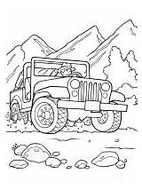 Coloring Road Pages Vehicle Transportation Print Printable Vehicles Mycoloring sketch template