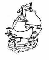Coloring Boat Printable sketch template
