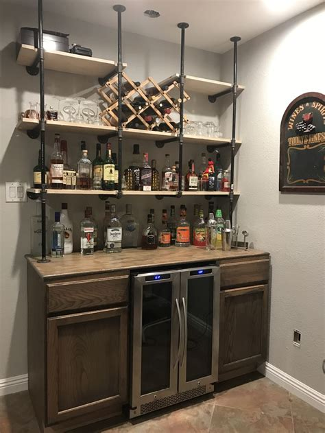 Bar With Shelves by Pin On Diy Home Bar