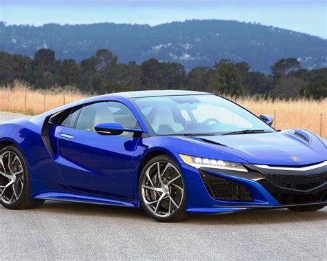 Download Wallpaper 1280x1024 2016 Acura Nsx Blue Luxury