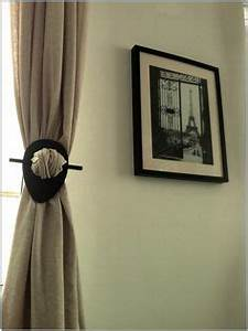 1000 images about curtain holder on pinterest curtain With curtain holder diy