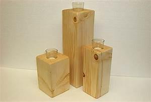 Säulen Aus Holz : kerzenst nder teelicht bestseller shop mit top marken ~ Orissabook.com Haus und Dekorationen