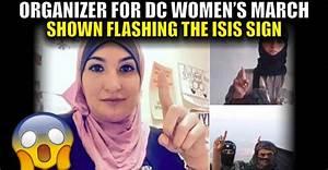 BREAKING : Organizer For DC Women's March Shown Flashing ...