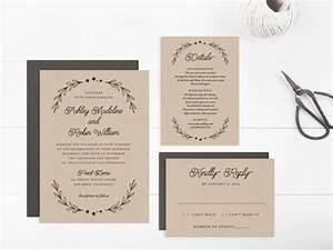 wedding invitation template printable editable text and With wedding invitation template 4 per page