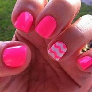 Pink Nails With Designs For Little Girls | www.imgkid.com ...