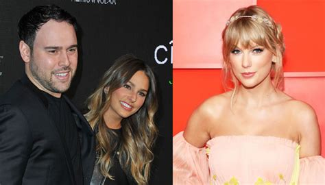 Scooter Braun's wife attacks Taylor Swift, calls her a 'bully'