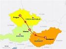 StepMap - K505- Prague, Vienna and Budapest - Landkarte ...