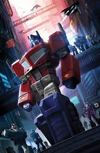 Idw Transformers  4 Cover B By Sara Pitre