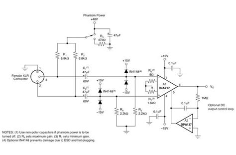 Pro Audio Microphone Pre Amplifier Design Using