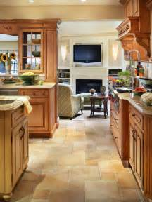 contemporary kitchen traditional kitchen quarry tile floor ideas home design photos kitchen