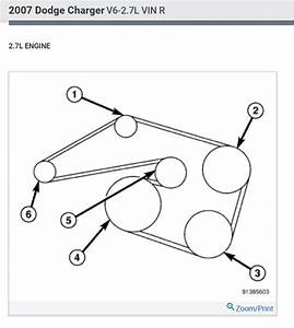 2012 Dodge Ram 1500 5 7 Hemi Serpentine Belt Diagram
