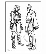 Anakin Skywalker Coloring Wars Wan Drawing Kenobi Printable Obi Clone Luke Template Sheet Obe Colors Rocks Clipart Lego Getdrawings Sketch sketch template