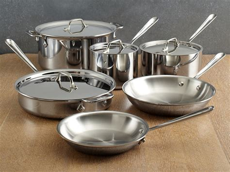 Allclad Copper Core Cookware Set Combinated Convenience