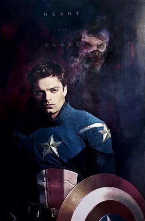 bucky barnes captain america apparently this is captain america 3 also he does become