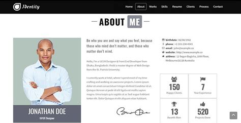 Créer Cv Word by Cv Site 15 Best Html Resume Templates For