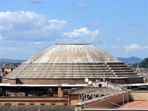cupola pantheon concrete