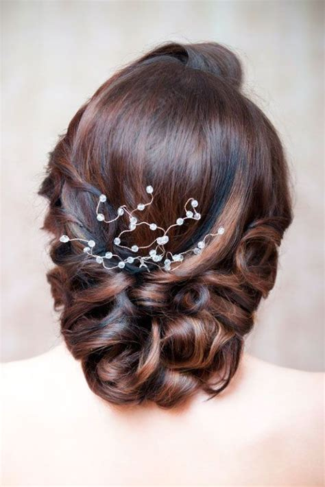 mother   bride hairstyles middle hair weddings