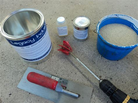 Products :: Concrete Repair :: HD 110 Epoxy Concrete Patch
