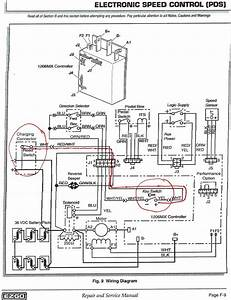 Can You Give Me The Wiring Diagram For Ezgo Golf Cart J2497