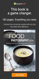 The-Food-Photography-Book-Image-600-x-300@2 - 365 Days of Easy Recipes