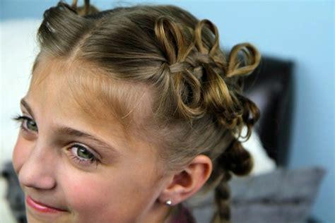 the bow braid cute braided hairstyles cute girls