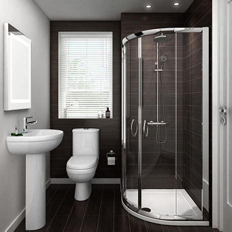 ivo suite  shower quadrant en suite set  size options