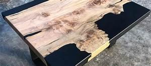 Table En Bois Et Resine : poxy pour bois poxy pour table bar et river table rivi re d 39 poxy ~ Dode.kayakingforconservation.com Idées de Décoration
