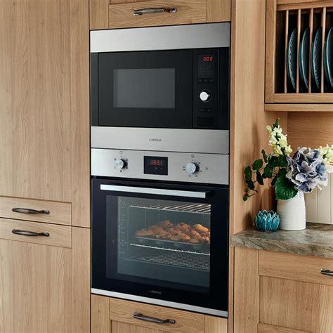 lamona lam built  cm stainless steel microwave