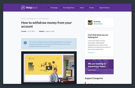 cms template cafceea helpdesk cms website template article picture collection website cms template design