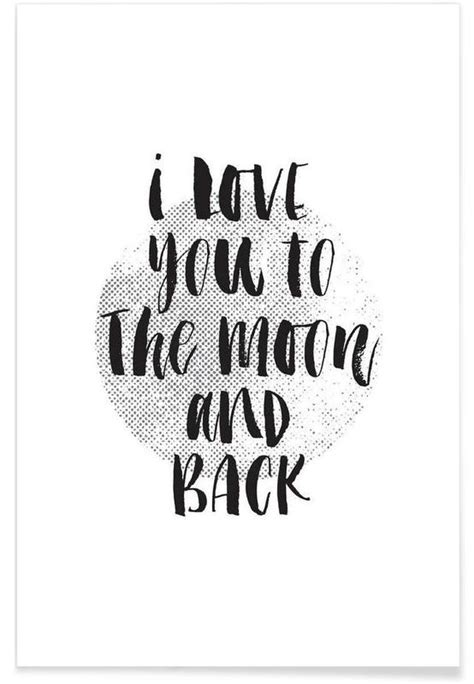 I You To The Moon And Back Kleurplaat by I You To The Moon And Back Poster Juniqe
